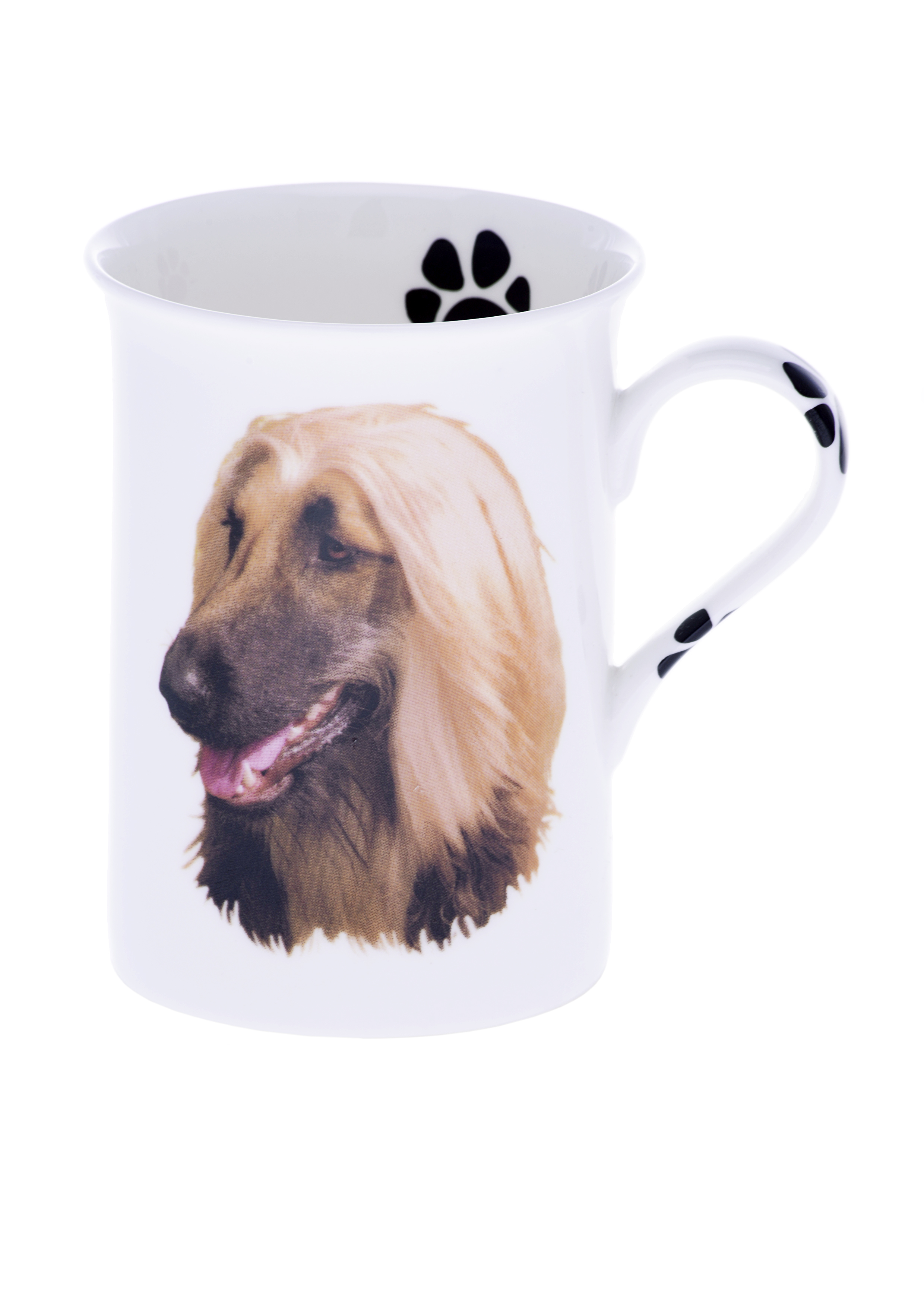 (R) Personalised Bone China Afghan Hound Dog Mug – Kirsty ...