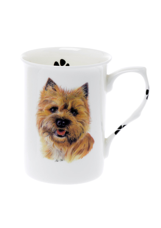 (BB19) Personalised Bone China Cairn Terrier Dog Mug ...