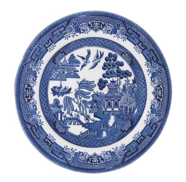 Blue Willow Plate - Churchill