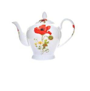 Wild Poppy Teapot
