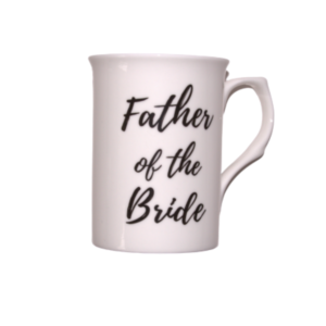 Bone China Father of the Bride Mug