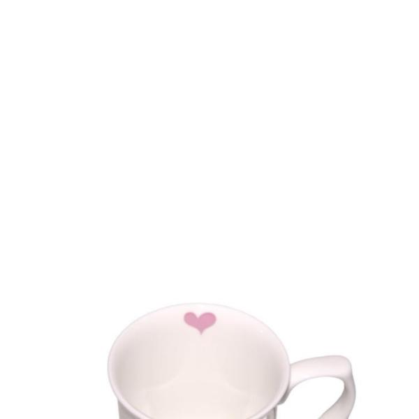 Heart inside mug